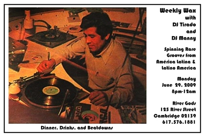 June 29 Weekly Wax Flyer